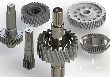 Ground gearing components