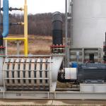Custom gearbox in blower application