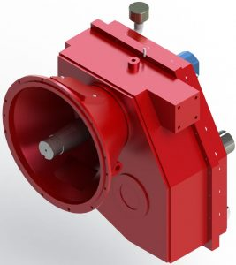 Gearbox ideal for snowblower applications