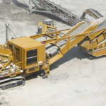 Speed reducer used on rock crusher
