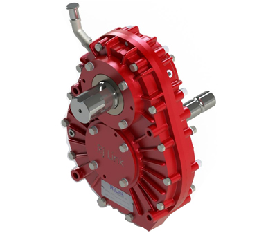Gearbox ideal for PTO applications
