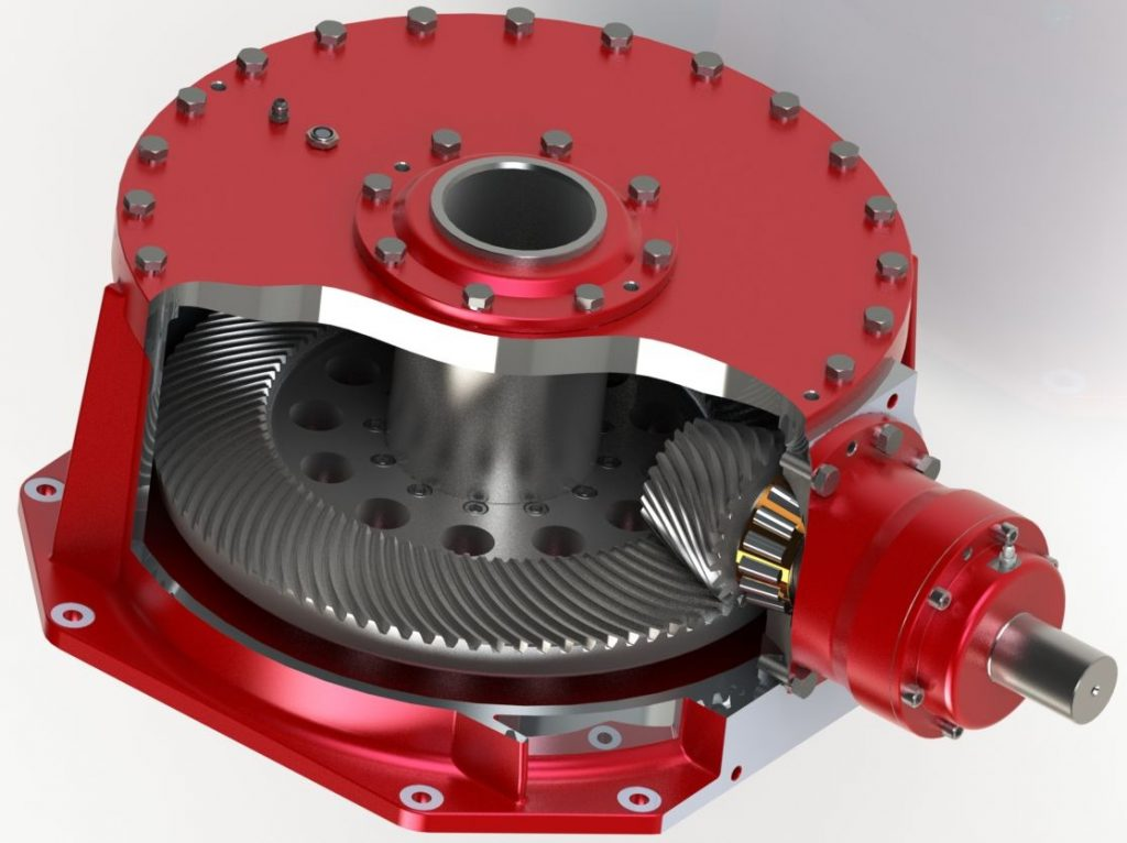 High output drive gearbox