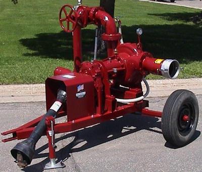 Mobile centrifugal pump