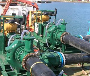 Gearbox for pumping