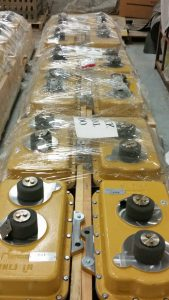 Gearboxes for railcar mover