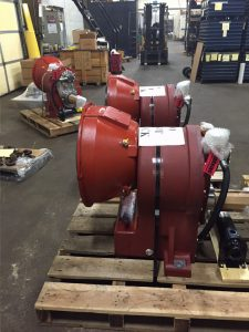 Booster pump gearbox