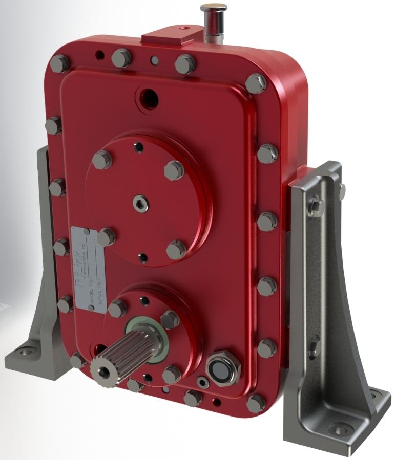 Versatile high speed gearbox