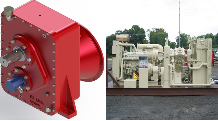 Speed reducer centrifugal pump