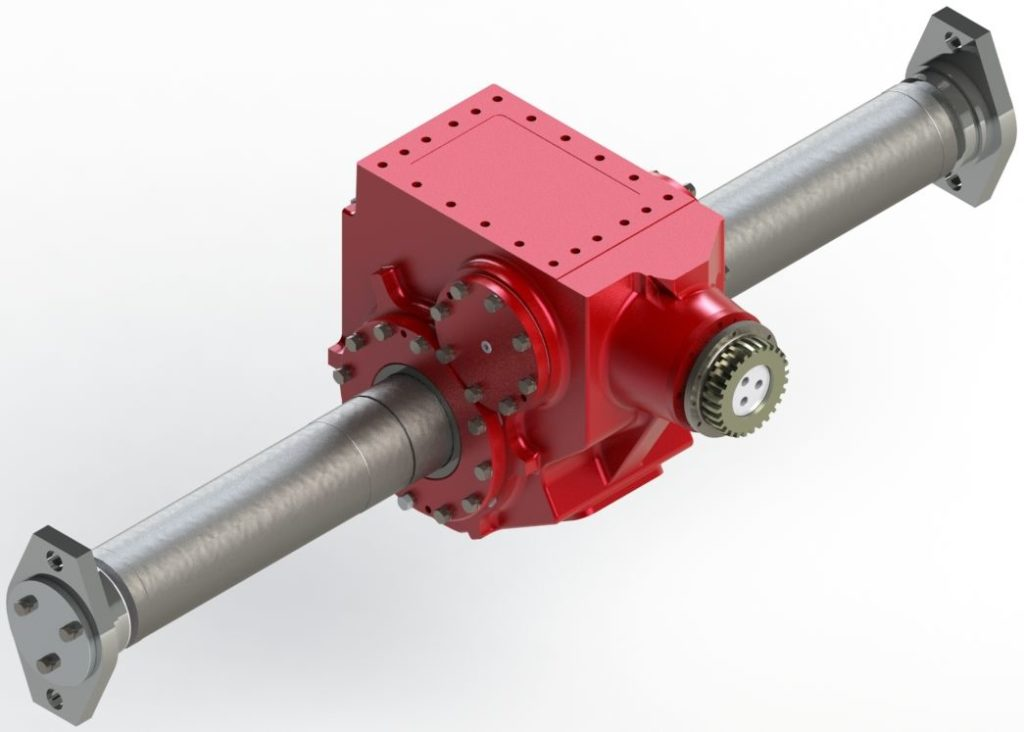 Right angle speed reducer