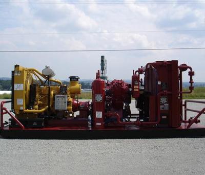 Compression booster pump