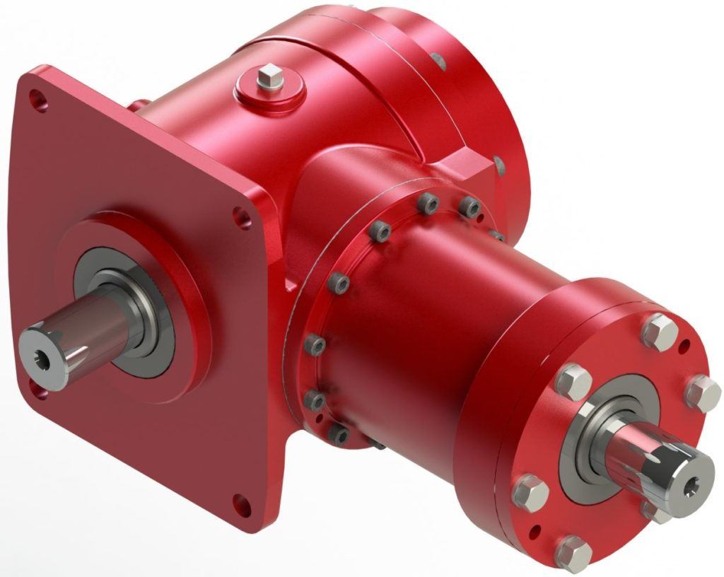 Right Angle Transmission : Small package gear drives with high output rj link