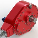 Custom gearbox ideal for driving traction systems