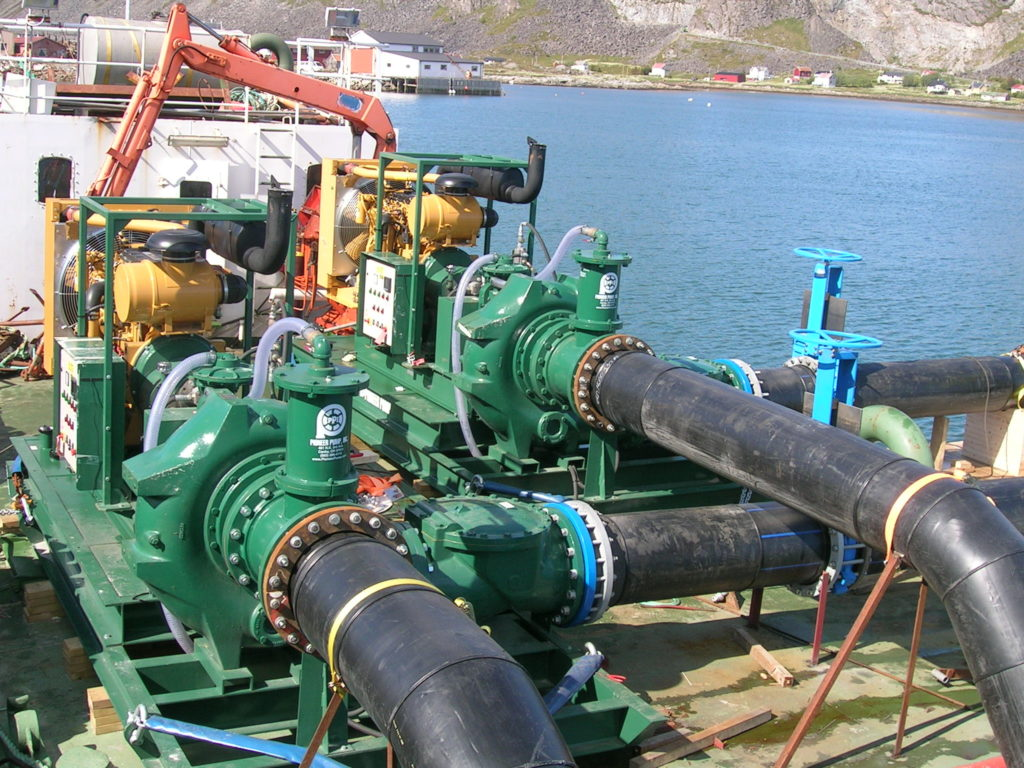 Gearbox used in pumping