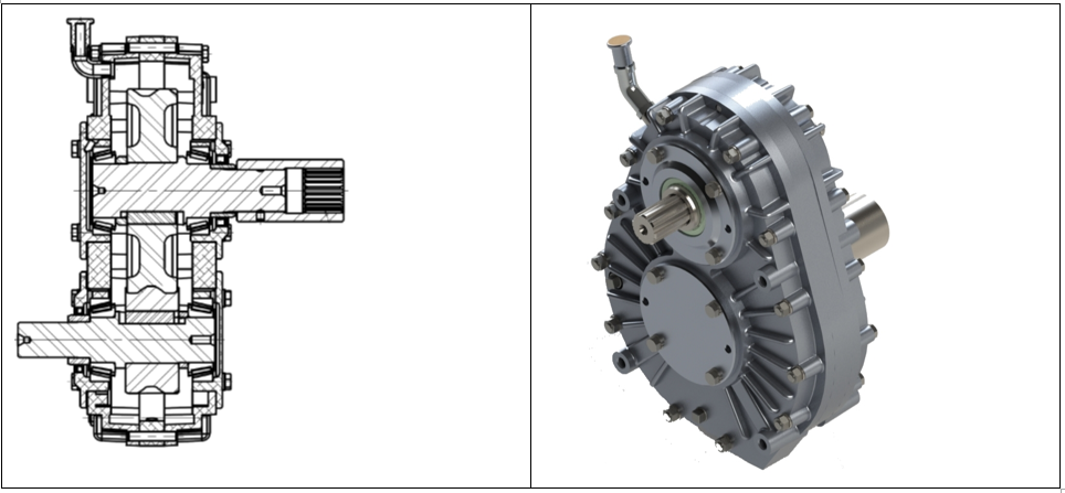 Best in class gearbox design