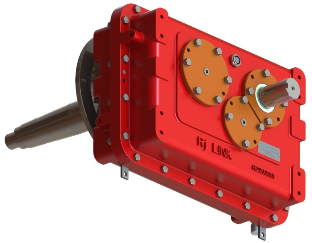 Speed Increaser horizontal pump