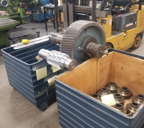 Pinion and mating gear