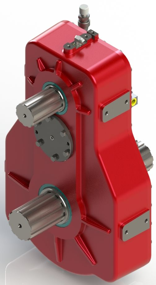 Test stand prototype gearbox