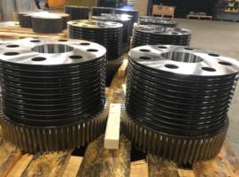 Bull wheel gears