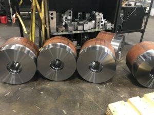 Material for bull wheel gears