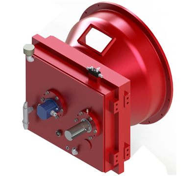 Custom gearbox centrifugal pump