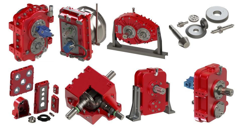 Gearboxes designed to fit