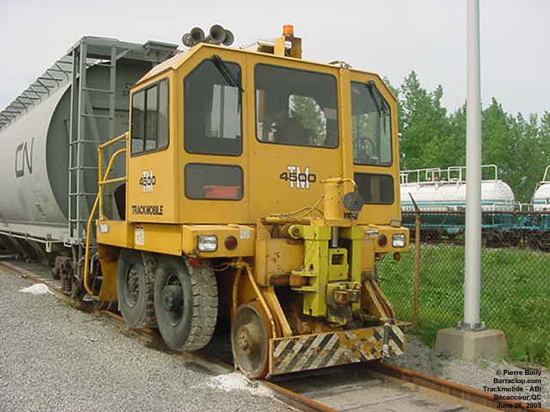 Rj Link Gearbox in railcar mover