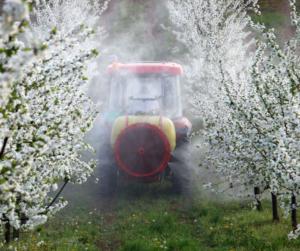 Orchard sprayer
