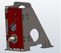 Hybrid Interface Gearbox